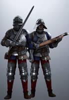 Temerian Soldiers by SuperNinjaNub