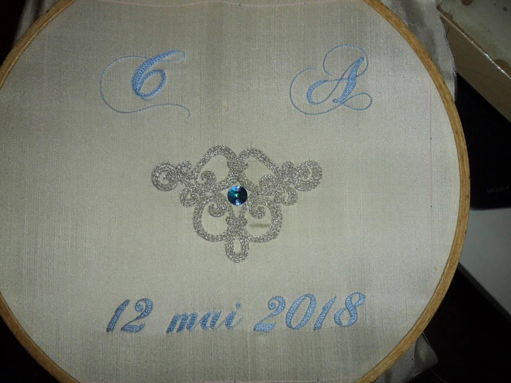 Wedding cushion by MeeYungCreations