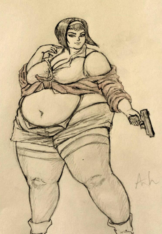 Fat Tifa Deviantart Wwwtollebildcom