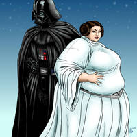 Large Leia by Ray-Norr