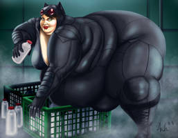Yet Another Fat Catwoman by Ray-Norr