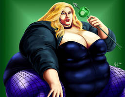 Big Black Canary by Ray-Norr