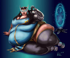 Super-sized Symmetra by Ray-Norr