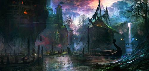 Docks by BMJ-Metalik