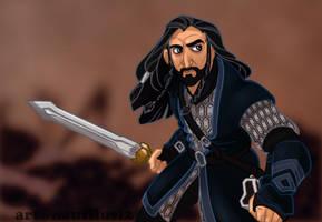 Thorin Oakenshield by NautilusL2
