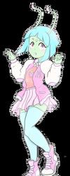 Alien girl by GoofySquid
