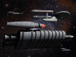 Colony ships by thefirstfleet