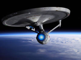 Almost totally new Enterprise by thefirstfleet
