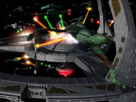 The Battle of Deep Space Nine by thefirstfleet