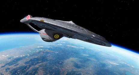 USS Enterprise NCC-1701-E by thefirstfleet