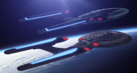 Pride of Starfleet by thefirstfleet