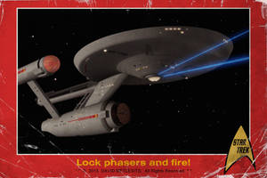 Vintage Star Trek card by thefirstfleet