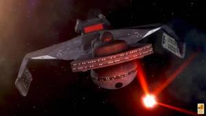 K't'inga class battlecruiser by thefirstfleet
