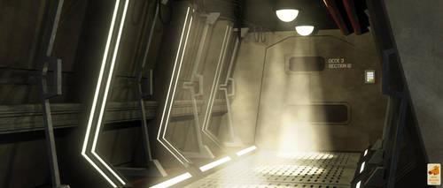 Kelvinverse Polaris corridor by thefirstfleet