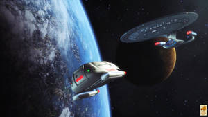 Shuttle trip by thefirstfleet