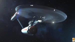 Robert April's Enterprise by thefirstfleet