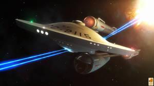 Three nacelled fighting machine by thefirstfleet