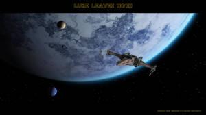 Luke leaves Hoth by thefirstfleet