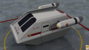 Shuttlecraft Strelka version 3 by thefirstfleet