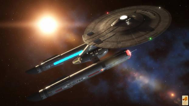 USS Polaris, Captain Culpepper commanding by thefirstfleet