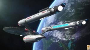 Kirk's Discoprise by thefirstfleet