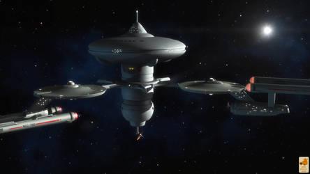 Meeting at Starbase 6 by thefirstfleet