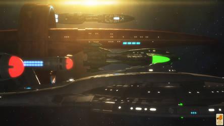 Dawn of the Federation by thefirstfleet