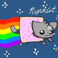 Nyan Cat 8D by Kaigumo