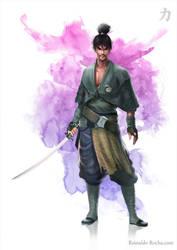 Samurai Ronin Si-fi! by garrafadagua