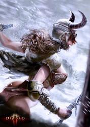 Diablo Barbarian! by garrafadagua