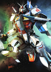 Gundam Wing! by garrafadagua