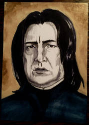 Severus Snape by EithnaArt