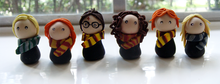 Potter Gang by CookieCraft