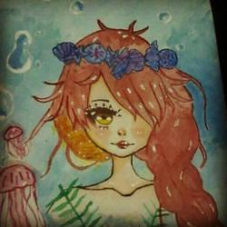 mermaid  by sokachu