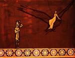 Thalion and Thalia, myth of Origins by simorette