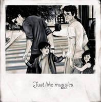 Just like muggles by AnastasiaMantihora