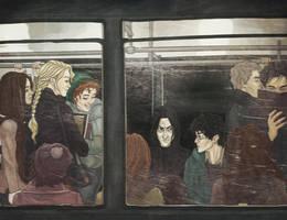 Prince in the subway by AnastasiaMantihora