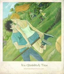 It's Quidditch Time by AnastasiaMantihora
