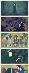 Snape White and the Seven Weasleys by AnastasiaMantihora