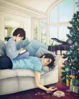christmas_morning by AnastasiaMantihora