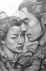 Samurai Heaven Earth - Shiro by AdrianaMelo