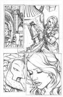Wonder Girl  pg 5 by AdrianaMelo