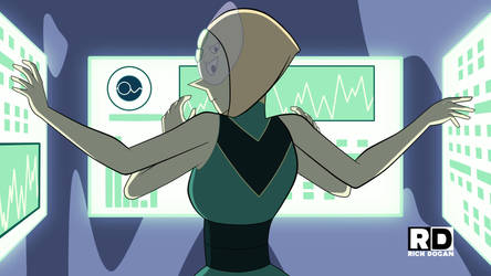 Pearl-Peridot Fusion: Episode Draft Still by richdogan