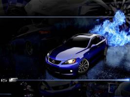 Lexus IS-F Wallpaper by FordGT