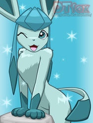 Glaceon by DTfox