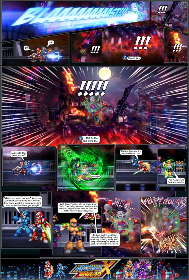 MMX:U49 - Prologue: Doomsday (Page 6) by IrregularSaturn