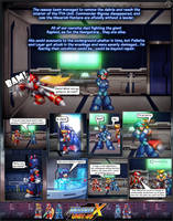 MMX:U49 - S1Ch2: Hunter's Call (Page 1) by IrregularSaturn
