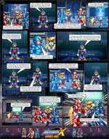 MMX:U49 - S1Ch2: Hunter's Call (Page 2) by IrregularSaturn