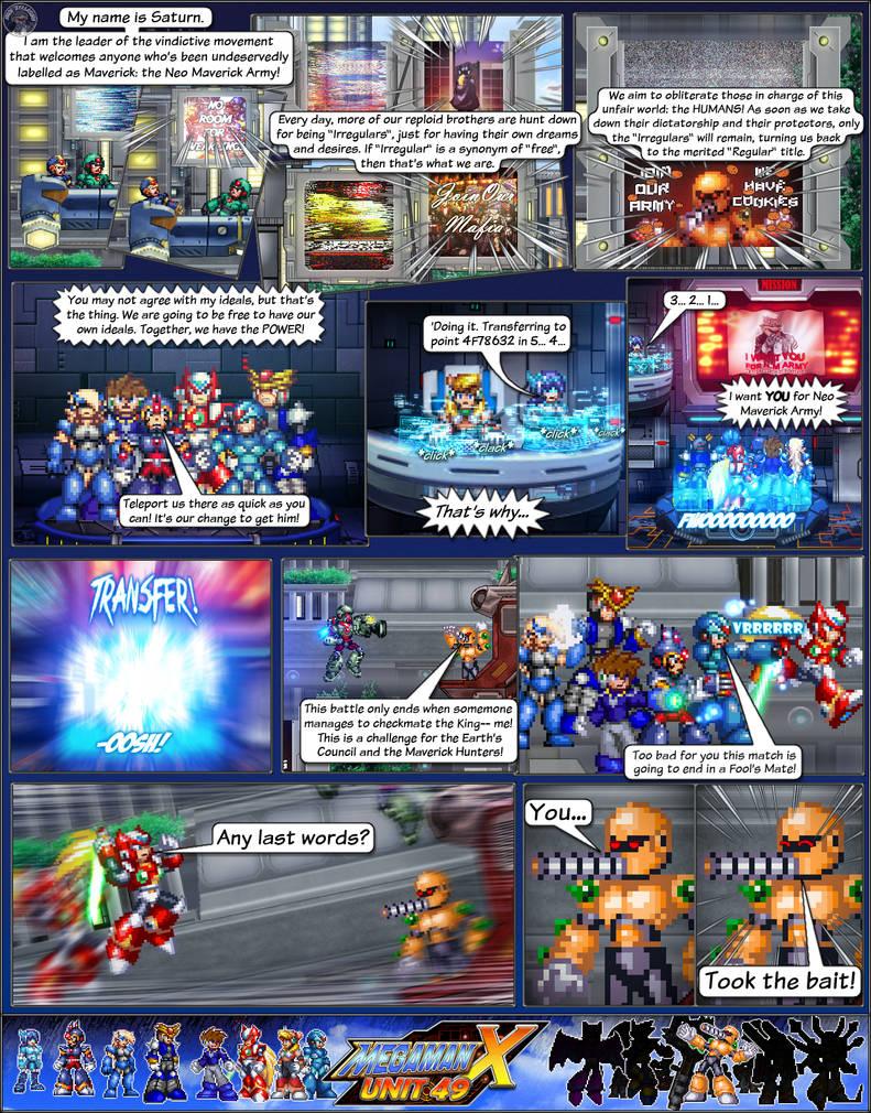 MMX:U49 - S1Ch4: Parade (Page 2) by IrregularSaturn