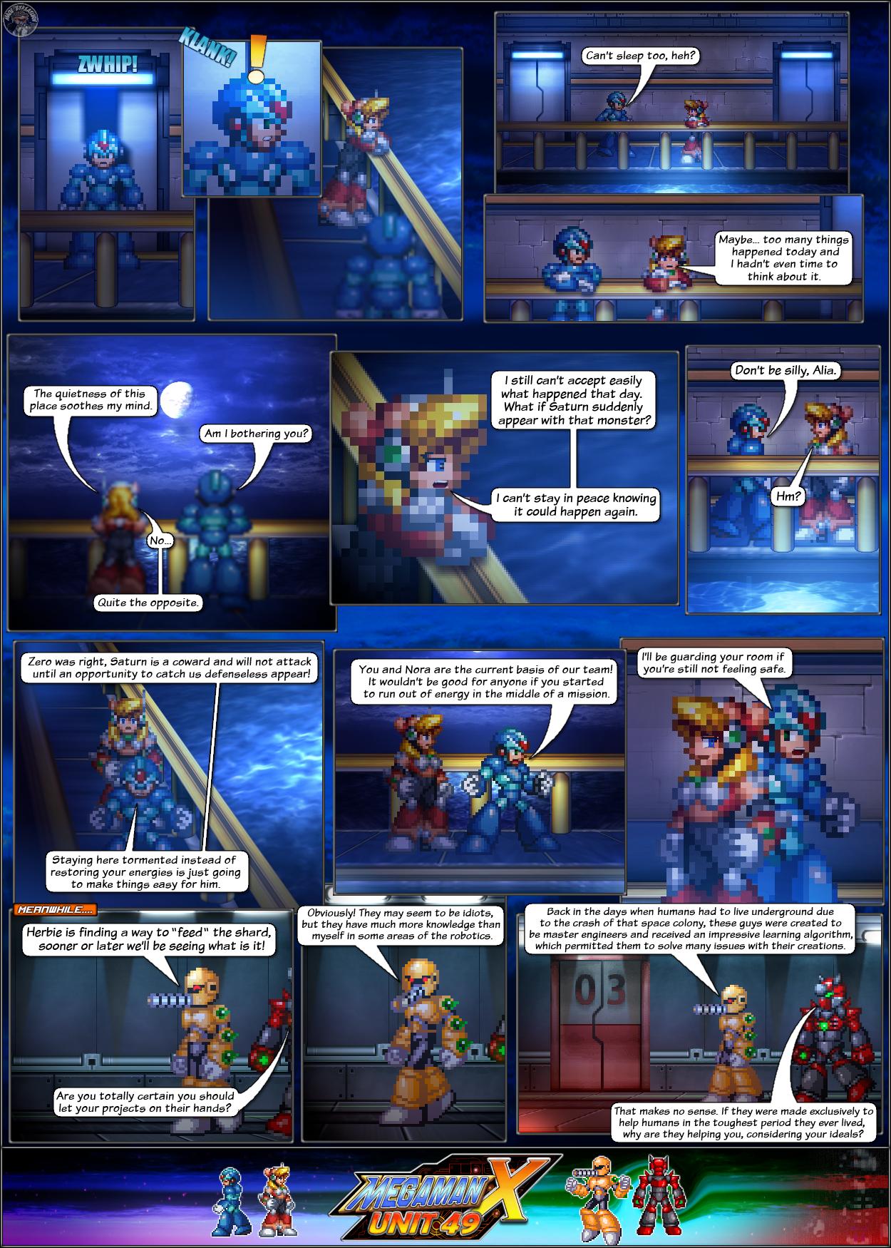 MMX:U49 - S1Ch6: Nightly Torments (Page 1) by IrregularSaturn